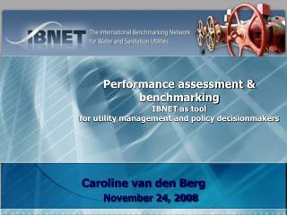 Caroline van den Berg November 24, 2008
