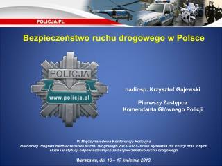 Bezpieczeństwo ruchu drogowego w Polsce