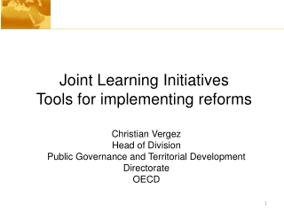 Overview of OECD E-Government Reviews