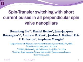 Spin-Transfer switching with short current pulses in all perpendicular spin valve  nanopillars