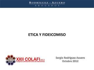 ETICA Y FIDEICOMISO