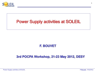 Active Mode Power Supply Efficiency: