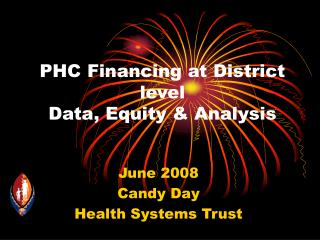PHC Financing at District level  Data, Equity & Analysis