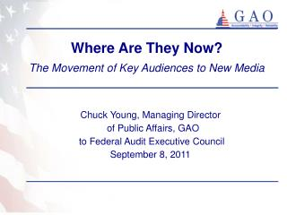 Where Are They Now? The Movement of Key Audiences to New Media