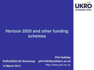 Phil Holliday phil.holliday@bbsrc.ac.uk