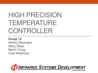 High Precision Temperature Controller