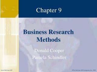 Donald Cooper Pamela Schindler