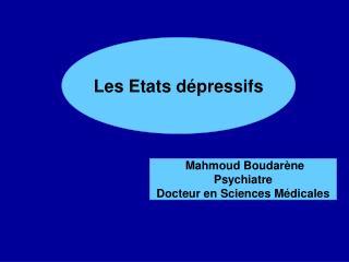 La maladie dépressive