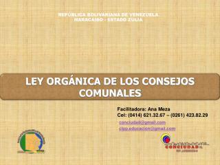 REPÚBLICA BOLIVARIANA DE VENEZUELA MARACAIBO - ESTADO ZULIA