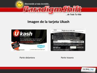 Imagen de la tarjeta Ukash