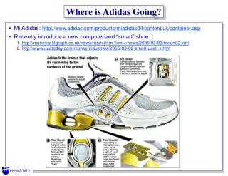 Where is Adidas Going?
