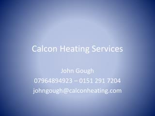 Calcon  Heating Services