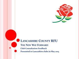 Lancashire County RFU
