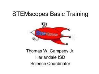STEMscopes Basic Training