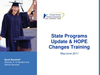 State Programs Update & HOPE Changes Training