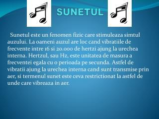 SUNETUL