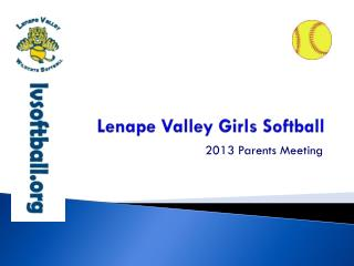 Lenape Valley Girls Softball