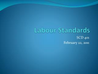 Labour Standards