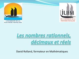 Les nombres rationnels, décimaux et réels