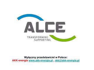 Wyłączny przedstawiciel w Polsce:  AKK-energia akk-energia.pl  ,  akk@akk-energia.pl