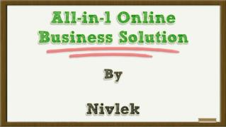 ppt 38306 All in 1 Online Business Solution