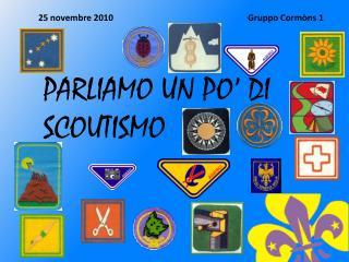 25 novembre 2010Gruppo Cormòns 1