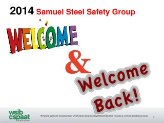 2014 Samuel Steel Safety Group