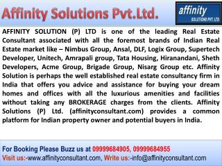 IITL Palm Village @ 09999684955@ opposite to Jaypee Sports C