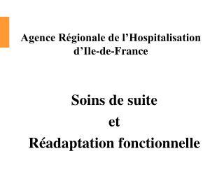 Agence Régionale de l'Hospitalisation  d'Ile-de-France