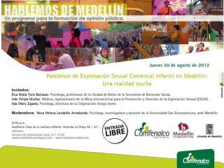 Explotación Sexual Comercial Infantil en Medellín