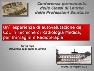 Conferenza permanente delle Classi di Laurea delle Professioni Sanitarie
