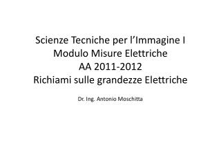 Dr. Ing. Antonio Moschitta