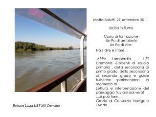 Motta Baluffi  21 settembre 2011