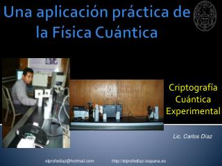 Criptografia Cuantica El Profe Diaz