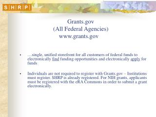 Grants (All Federal Agencies)  grants