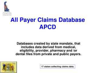 All Payer Claims Database APCD