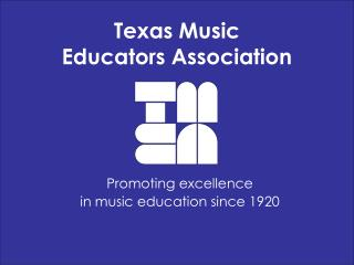 Texas Music  Educators Association