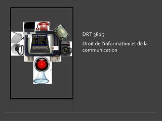 DRT 3805