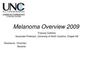 Melanoma Overview 2009