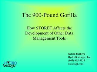 The 900-Pound Gorilla