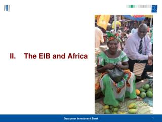 II.    The EIB and Africa