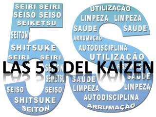 Las 5 s del  kaizen