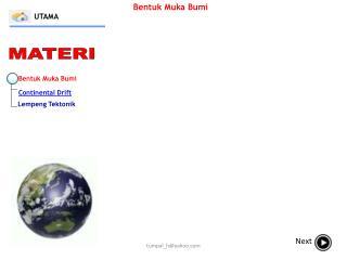Bentuk Muka Bumi