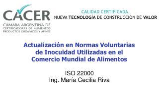 CALIDAD CERTIFICADA , NUEVA  TECNOLOG�A  DE CONSTRUCCI�N DE  VALOR