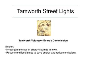 Tamworth Street Lights