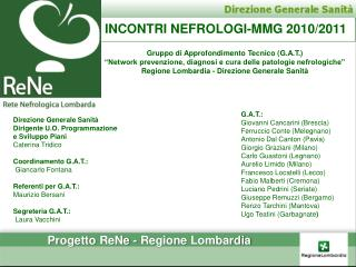 INCONTRI NEFROLOGI-MMG 2010/2011