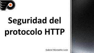 Seguridad del protocolo HTTP