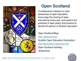 Open  Scotland