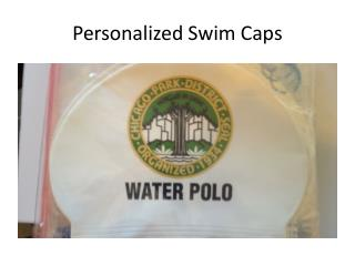 Personalized Swim Caps