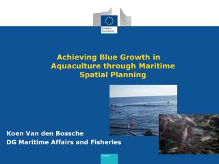 Achieving Blue Growth in Aquaculture through Maritime Spatial Planning